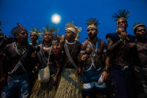 Xukuru people from the state of Pernambuco,