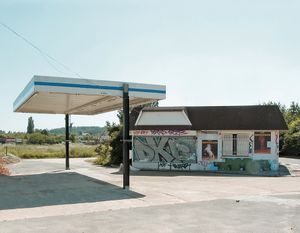 "Station #19, from ""Twentysix Abandoned Gasoline Stations"" © Eric Tabuchi"
