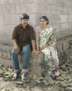 Dasaratha And Kaushalya Longing For A Son
