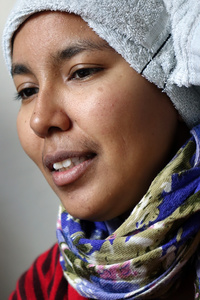 portrait Aicha (close up I)