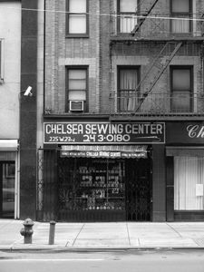 """""""Chelsea Sewing Center"""", New York City, 2009"""