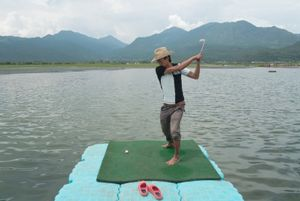The Western Golfer, Lijiang, Yunnan, China.