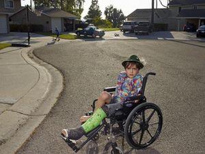Otto in Wheelchair