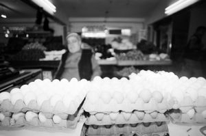 Eggs and Groceries, 2010 © Clara Abi Nader
