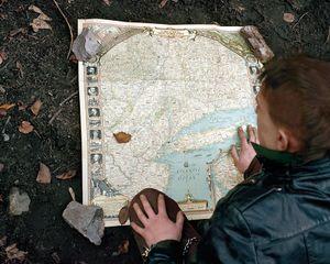 The Map © Jenny Riffle