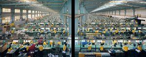 Manufacturing #10AB, Cankun Factory, Xiamen City, 2005 © Edward Burtynsky