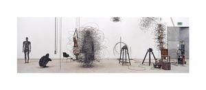 Atelier, Antony Gormley, London, 2004. Showing at Galerie Cedric Bacqueville. Courtesy Art Paris Art Fair.