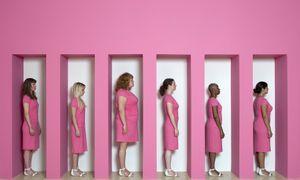 Kate Gilmore, Wall Bearer, 2011 © David Castillo Gallery, Paris Photo LA
