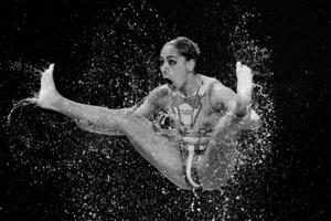 Women's Team Free Synchronised Swimming Kazan, 2015