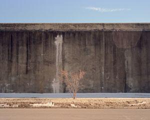 Prison Wall in Winter, Wall Street, Auburn, NY
