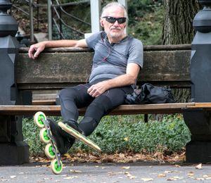 NYC Central Park Skater