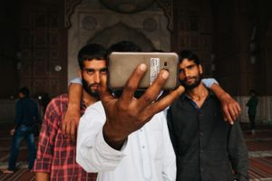 Selfie. New Delhi, Jama Majid, India, 2016
