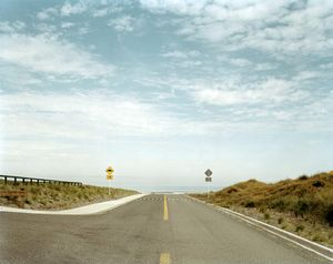 Waitarere Beach Road, Waitaere, Manawatu, 10:05am, 9th March 2004. © Derek Henderson