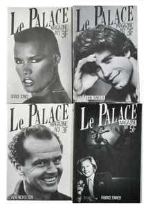 Le Palace magazine, 1980-1982 © François Dymant, Chloé & Denis Ozanne
