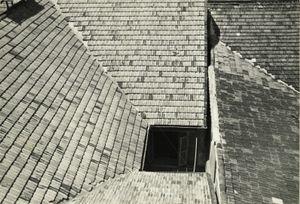 Rooftops, Paris, 1947 © Robert Frank, James Hyman Gallery