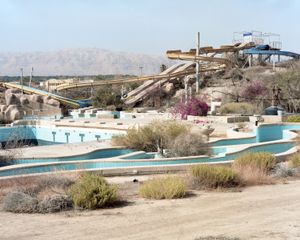 Water Park, north of the Dead Sea, 2016