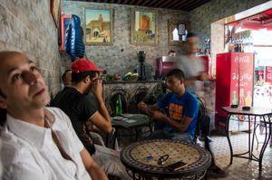 Cafe, Bab  Fes, Morocco