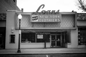 """New York Clothiers"" Waco, Texas, 2012 (Closed)"