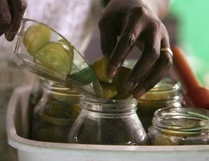 Fanny's Sweet Pickles