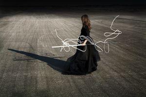 """Toute Pensée, from the series, """"Solo"""" 2010 © Corinne Mercadier, Galerie les Filles du Calvaire"""