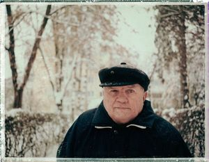 My cross father after stroke II. Marosvásárhely, Romania, 2009