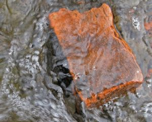 Orphan Brick - River wash over me. Brick fragment washes over with waves.