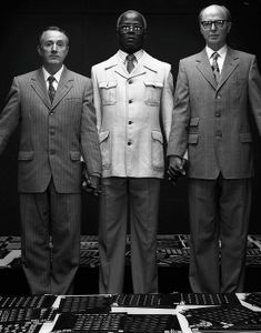Gilbert and George and Stainton Forrest
