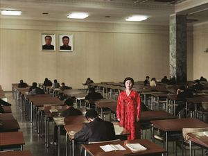Grand People's Study House, from <i>Welcome to Pyongyang</i>, © Charlie Crane, 2007
