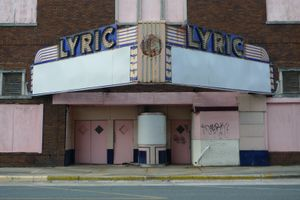 """""""Lyric Theatre"""" Closed"""