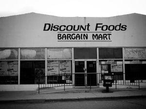 """Discount Foods"" Big Spring, Texas, 2002"