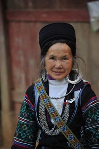 Black Hmong Woman, Sapa, Vietnam