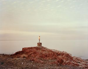 Priozersk XIV (I Was Told She Once Held An Oar). Kazakhstan, 2011 © Nadav Kander