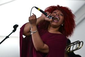 Alexis Spight, New Orleans JazzFest 2016