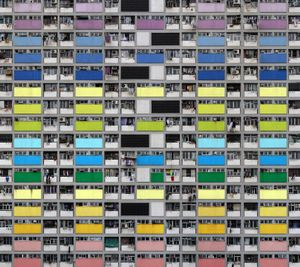 Architecture of Density #99, 2007 © Michael Wolf. Courtesy of the artist. Photo London Talks 2018, Compressed Life – Michael Wolf, Saturday 19 May 2018, 3.30pm-4.30pm.