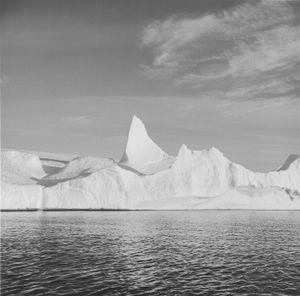 Iceberg XXII, Disko Bay, Greenland © Lynn Davis, courtesy of Prix Pictet, 2008