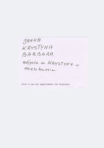 Letter from Janka