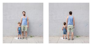 Father and Son, NYC