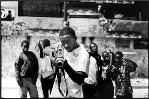 Ladj Ly, Film Maker, Montfermeil, France by JR, 2005. © jr
