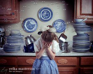 """ She just couldn't keep up"" © Erika Masterson"