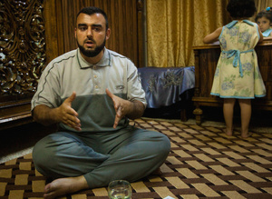 Abu Maryam, an English teacher now turned rebel fighter, is organizing his own battalion to join the FSA.