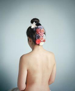 Camouflage aux Boutons de Fleurs © Marie Hudelot