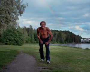 "Jouni. From the exhibition ""Kainuu"" © Maria Gallen-Kallela"