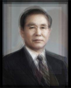 All the Presidents of the Republic of Korea from 1948 to 2008. C-print, 2008. © Alejandro Almaraz