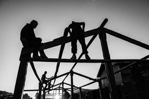 Residents of the village of Barpak, in Gorkha District, are rebuilding homes on their own.