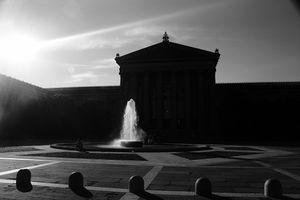 Silhouette in Philadelphia