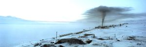 Barentsburg :  Smoke