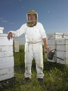 * Beekeeper/Tisdale, Saskatchewan/July 2011