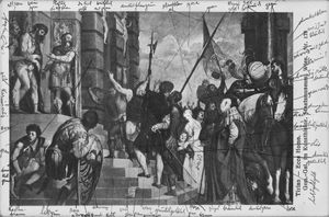 Aby Warburg Institute 2014/ Tizian Ecce Homo, 1543