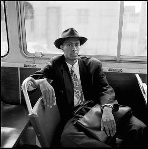 Man on Bus, Boston 1992