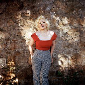 Memory as Marilyn Monroe, Rome, Italy, 2014.